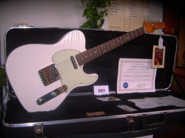 "Custom Aluminum 1"" Guitar Knob Chrome Plated"