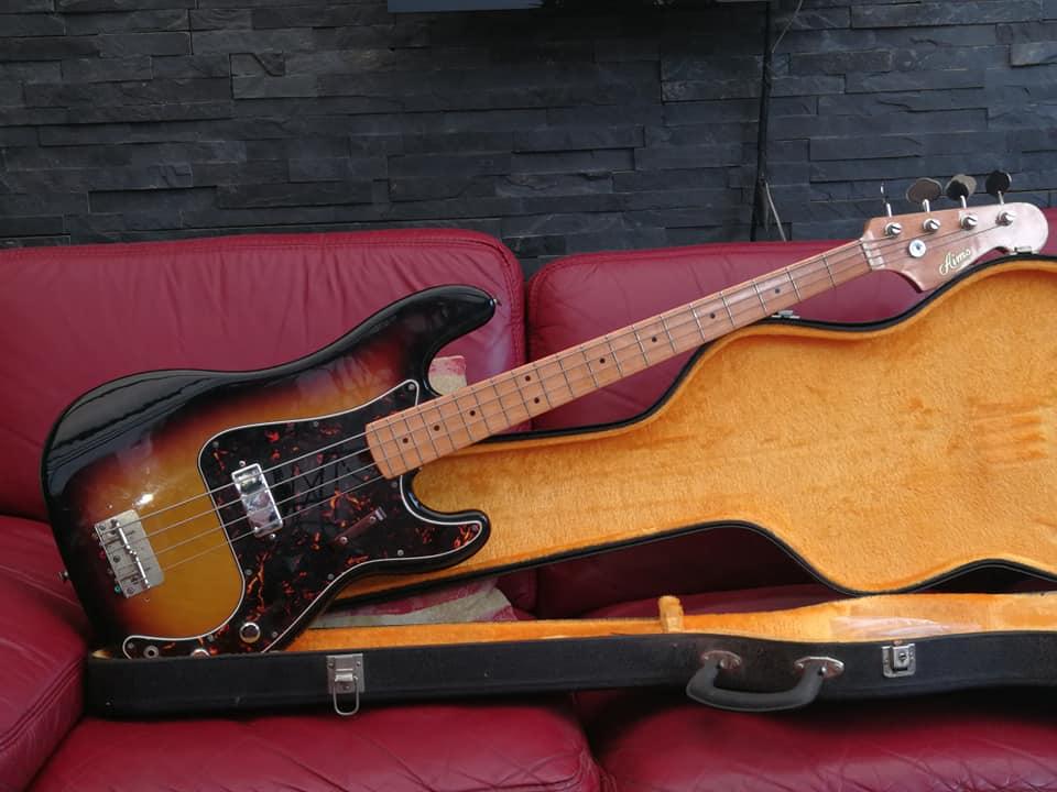 Fender Precision P Bass RELIC Bridge /& Pickup Covers Aged Antique Old w// Screws!