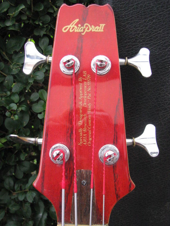 Basses Article Panpot Guitar Rewiring Tokai Jazzsound Fretless 1983 84 Made In Japan Candy Apple Red
